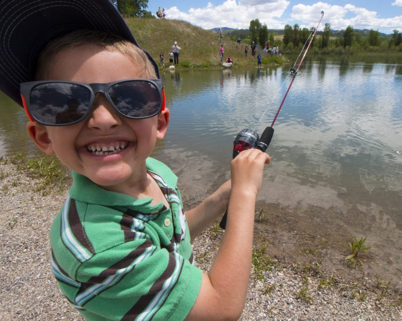 Rendezvous Park On Kids Fishing Day Copy