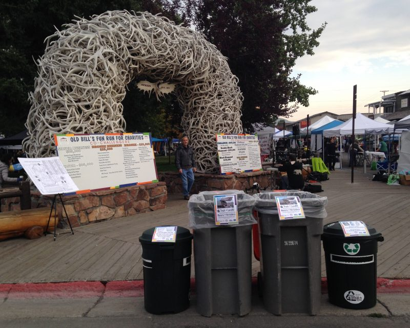 Recycling And Composting Bins