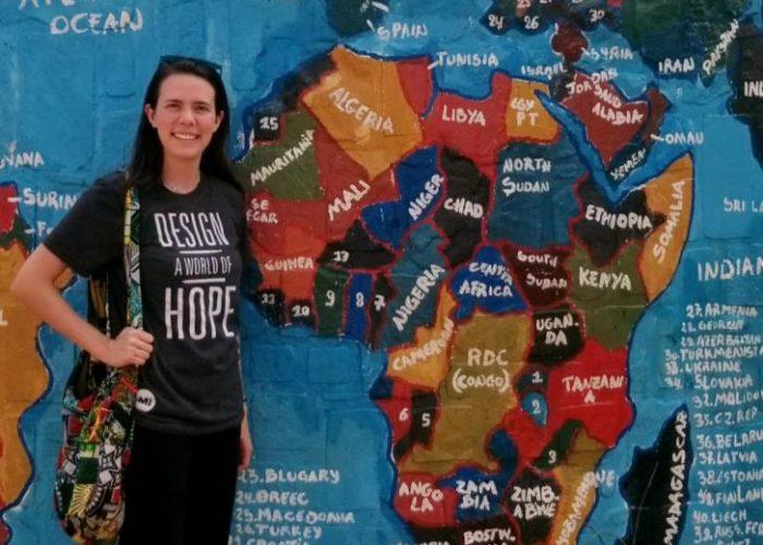 Natalie Palmquist Africa Map