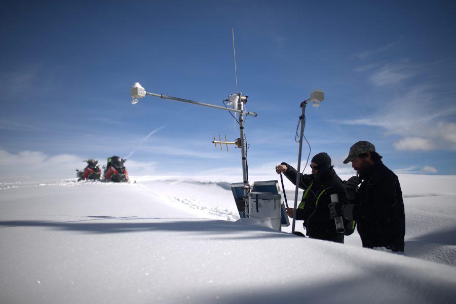 Bridger Teton National Forest Avalanche Lab